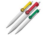 Kugelschreiber mit Clip Gesicht